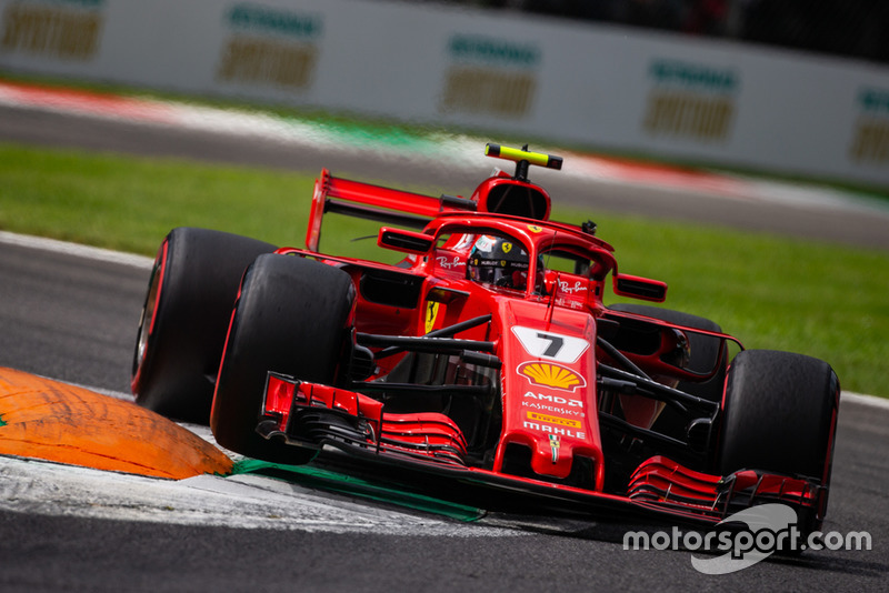 Raikkonen's last pole position was at the 2018 Italian GP