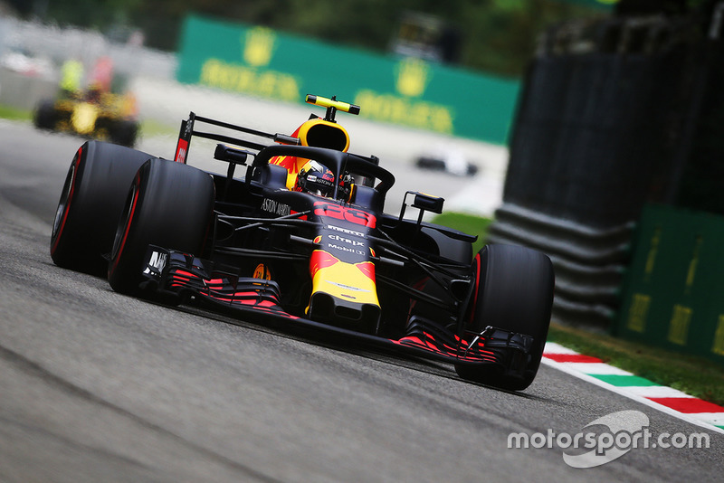 5: Max Verstappen, Red Bull Racing RB14, 1'20.615