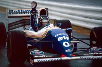 1. Damon Hill, Williams FW16