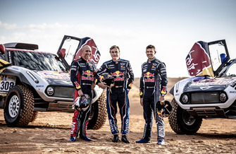 Carlos Sainz, Stephane Peterhansel, Cyril Despres, MINI X-Raid