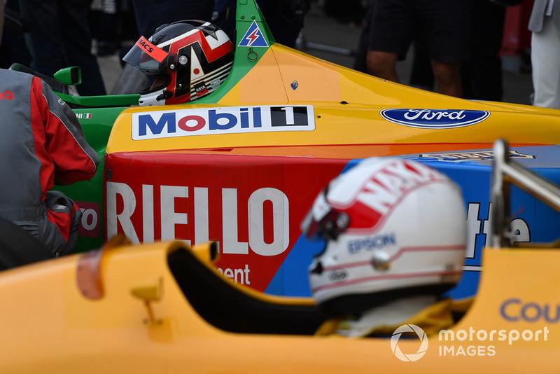 Satoru Nakajima, Lotus at Legends F1 30th Anniversary Lap Demonstration