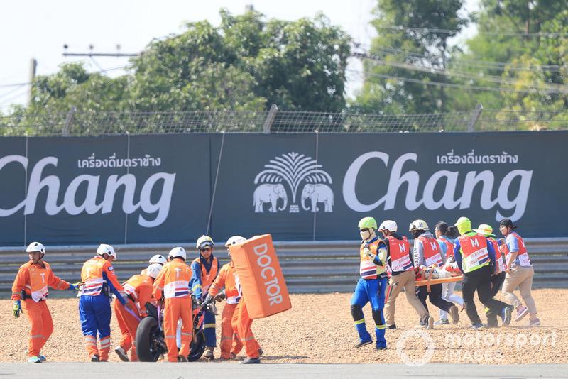 Jorge Lorenzo, Ducati Team na zijn crash