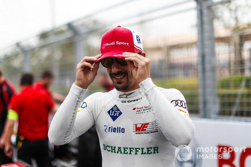 Lucas Di Grassi, Audi Sport ABT Schaeffler on the grid