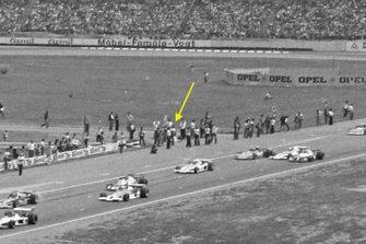 Hans Heyer, Penske PC4 Ford, si nasconde alla partenza della gara