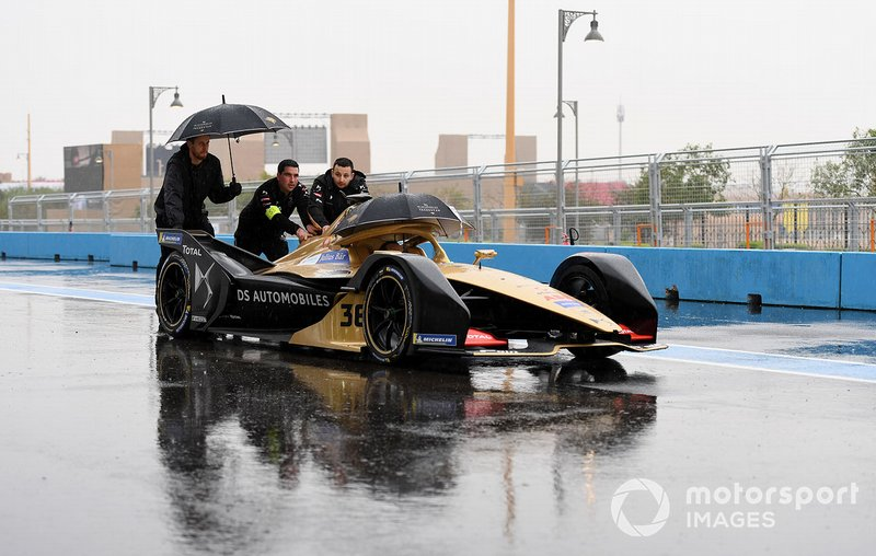 el auto de Andre Lotterer car, DS TECHEETAH, DS E-Tense FE19