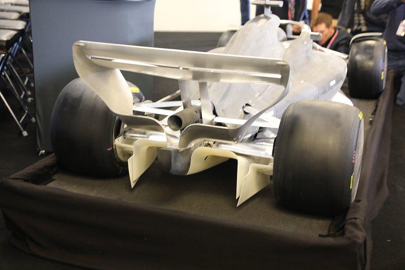 2021 F1 rules model