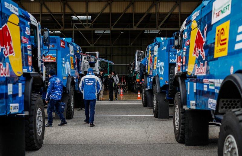 Accertamento Dakar team