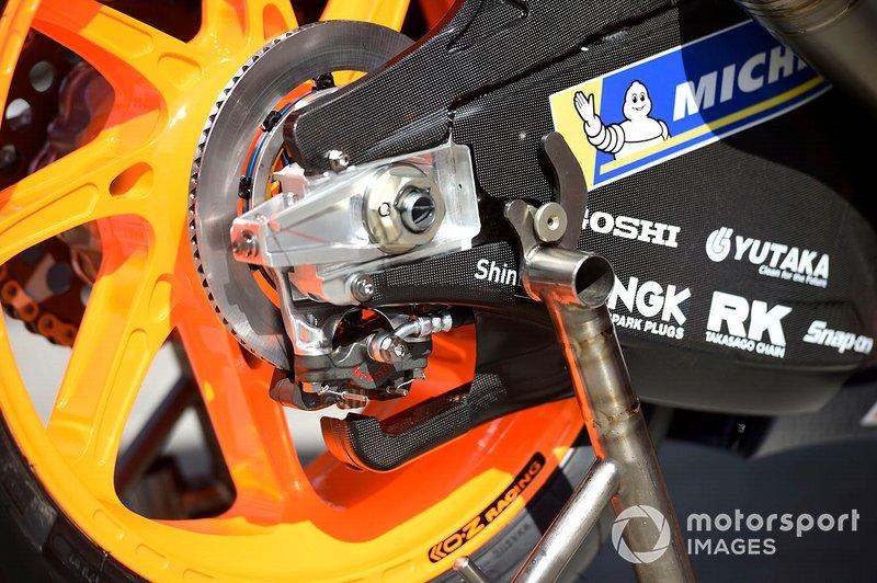 Honda RC213V: Hinterradbremse