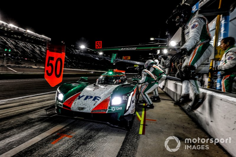 Juncos Racing Cadillac DPi-V.R of: Agustin Canapino, Kyle Kaiser, Will Owen, Rene Binder.