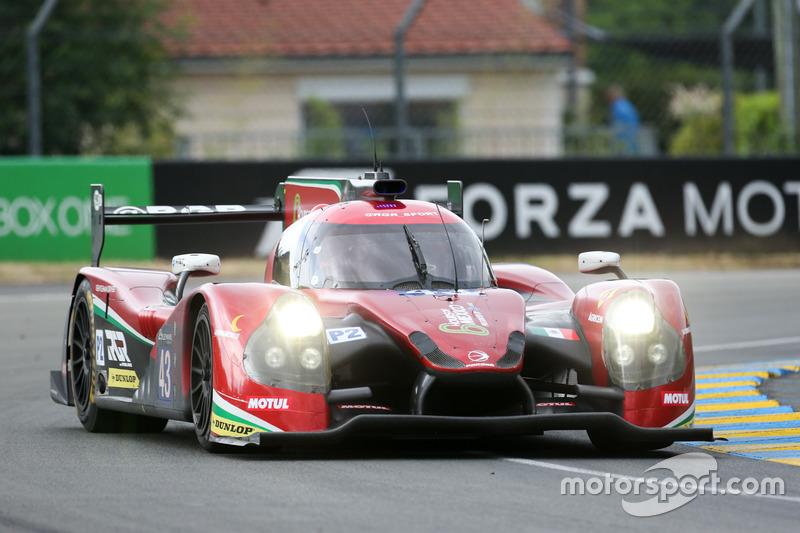 13. LMP2: #43 RGR Sport by Morand, Ligier JSP2 Nissan
