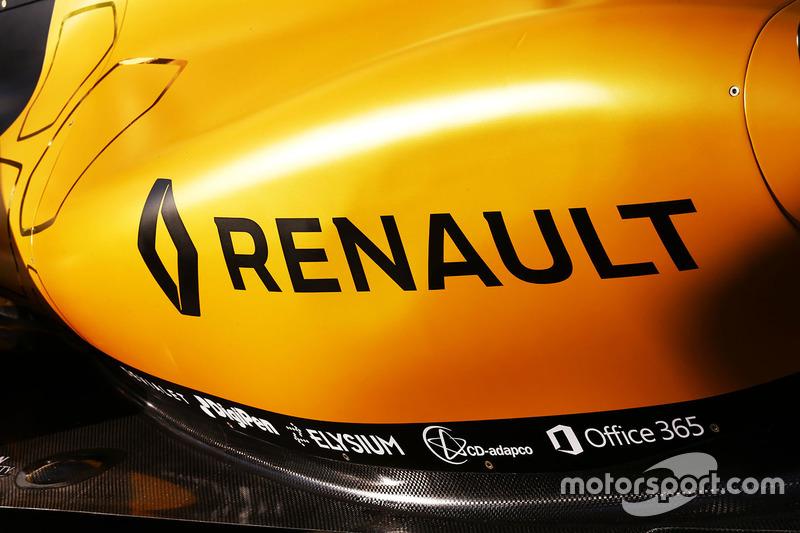 Renault in het geel