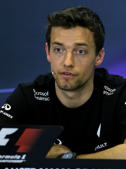 Jolyon Palmer, Renault Sport F1 Team during the press conference