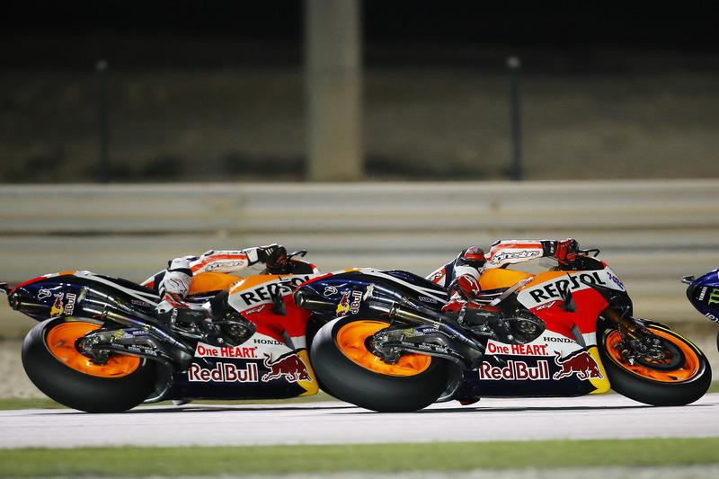 Marc Marquez, Repsol Honda Team, Honda and Dani Pedrosa, Repsol Honda Team, Honda