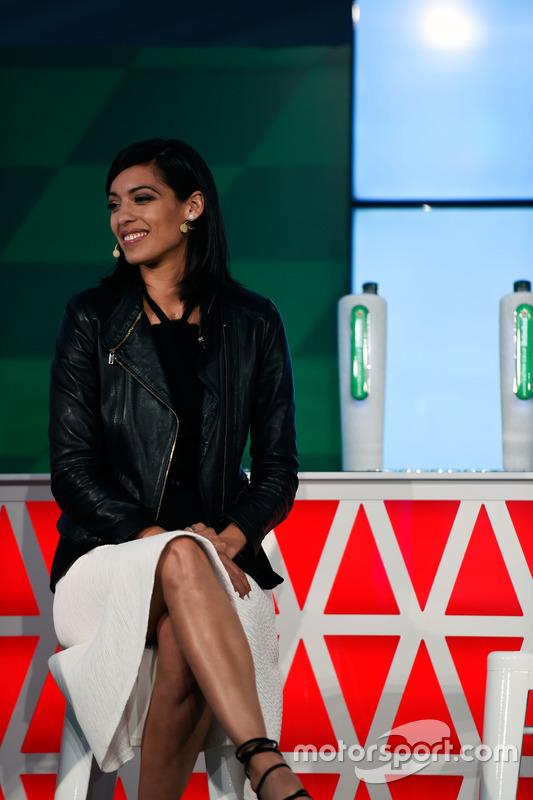 Stephanie Sigman, Actress, at a Heineken sponsorship announcement