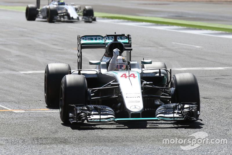 Ganador del Gran Premio de Gran Bretaña de F1 2016: Lewis Hamilton (Mercedes AMG F1 W07 Hybrid)
