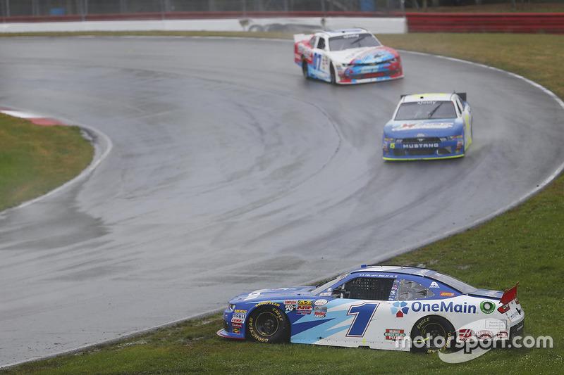 Elliott Sadler, JR Motorsports Chevrolet, testacoda