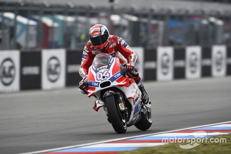 Ausfall: Andrea Dovizioso, Ducati Team