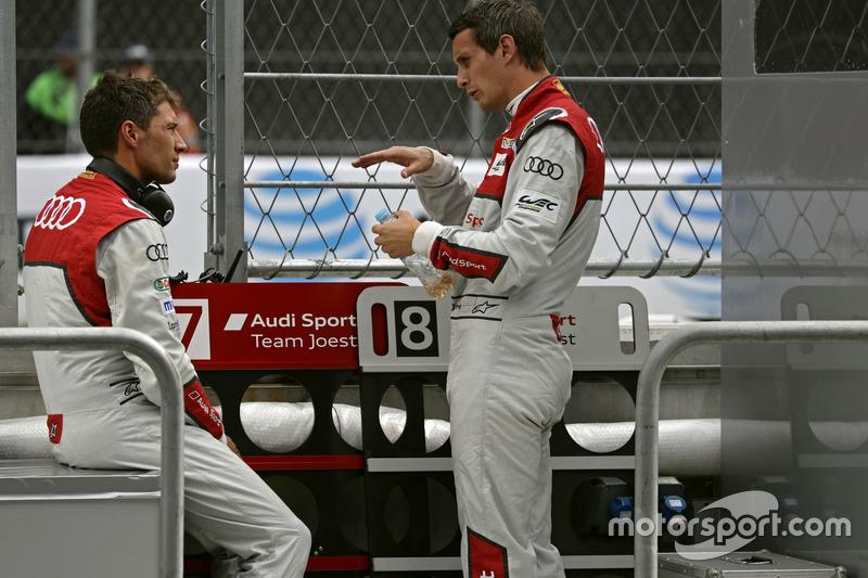#8 Audi Sport Team Joest, Audi R18 e-tron quattro: Loic Duval, Oliver Jarvis