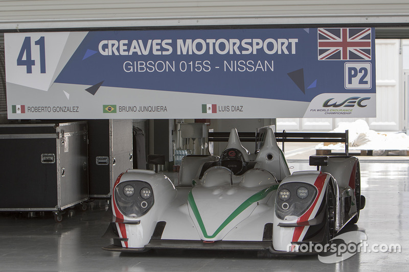 #41 Greaves Motorsport Gibson 015S –Nissan: Roberto González, Bruno Junqueira, Luis Díaz