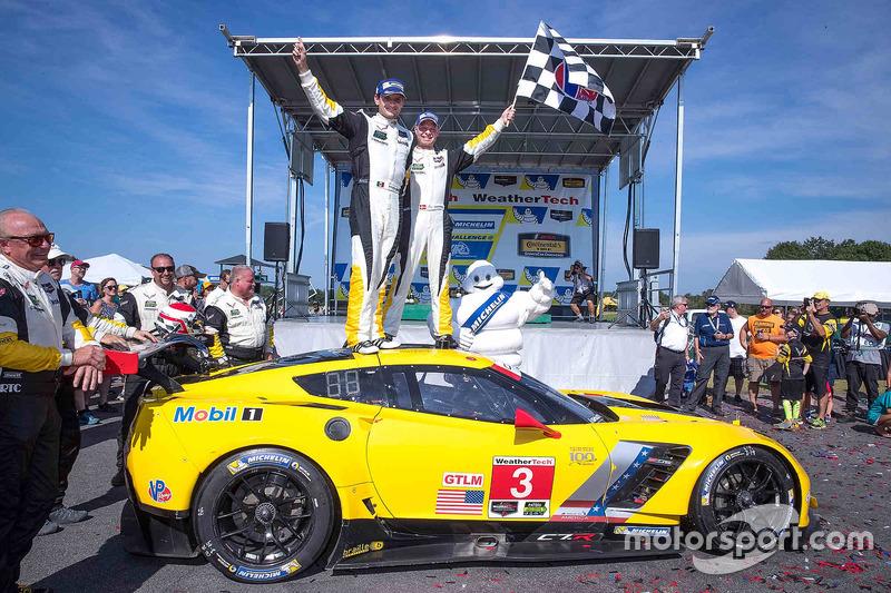 Race winners #3 Corvette Racing Chevrolet Corvette C7.R: Antonio Garcia, Jan Magnussen