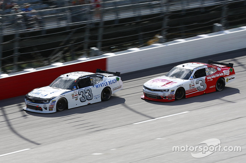 Brandon Jones, Richard Childress Racing Chevrolet, Ty Dillon, Richard Childress Racing Chevrolet