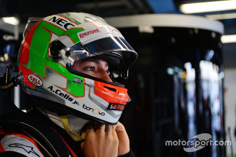 Alfonso Celis Jr., Sahara Force India F1 Geliştirme Pilotu