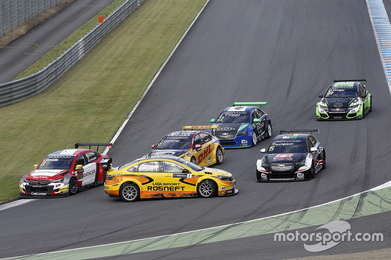 Hugo Valente, LADA Sport Rosneft, Lada Vesta in trouble