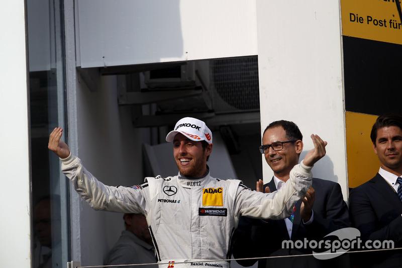 Podium: Daniel Juncadella, Mercedes-AMG Team HWA, Mercedes-AMG C63 DTM