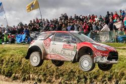 Крис Мик и Пол Нэгл, Citroën DS3 WRC, Abu Dhabi Total World Rally Team