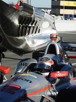 Вілл Пауер, Team Penske Chevrolet, з механічними проблемами