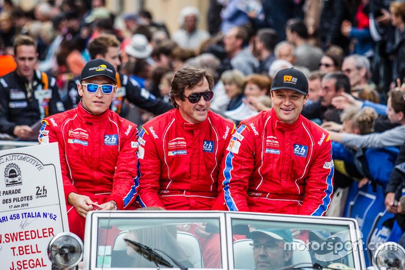 #62 Scuderia Corsa Ferrari 458 Italia: Jeff Segal, Bill Sweedler, Townsend Bell