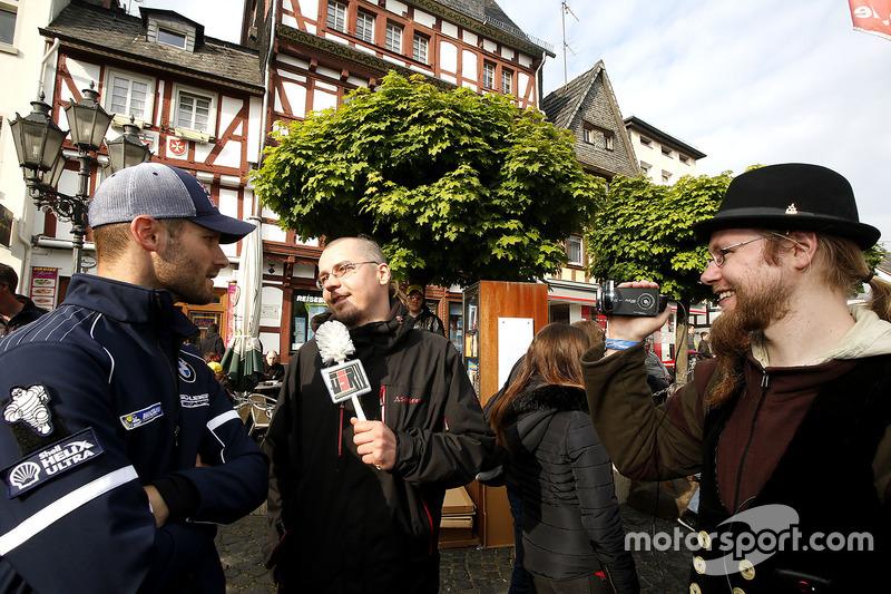 #100 Schubert Motorsport, BMW M6 GT3: Martin Tomczyk give a special interview