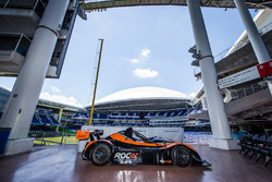 Radical car that will participate in the 2017 Race of Champions in Miami at the Marlins Park
