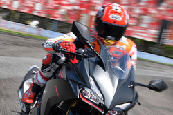 Marc Marquez test ride All New Honda CBR250RR