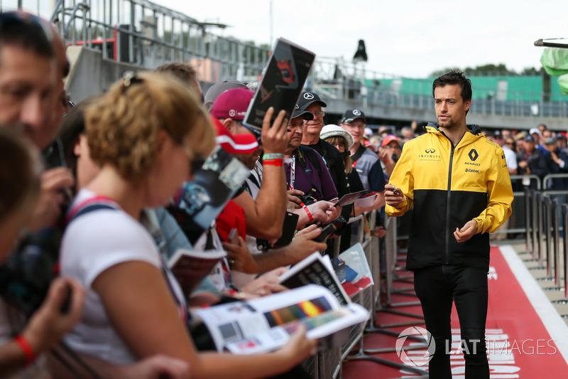 Джоліон Палмер, Renault Sport F1 Team, уболівальники