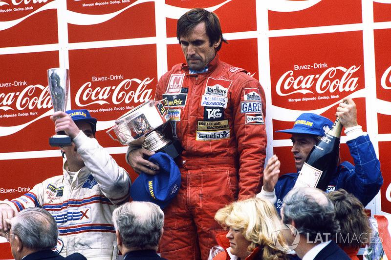 Zolder 1981: primer podio