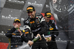 Podium: #63 GRT Grasser Racing Team, Lamborghini Huracan GT3: Andrea Caldarelli