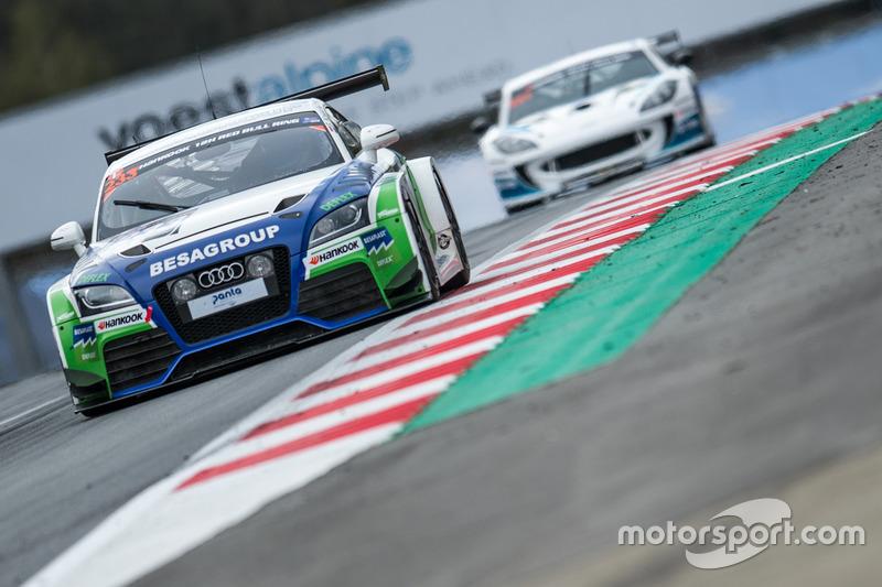 #233 Besaplast Racing, Audi TTRS: Franjo Kovac, Milenko Vukovic, Tomás Pekar