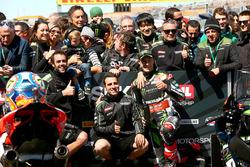 Segundo clasificado Jonathan Rea, Kawasaki Racing