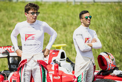 Charles Leclerc, PREMA Powerteam y Antonio Fuoco, PREMA Powerteam
