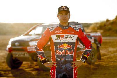 Toyota Gazoo Racing Dakar 2017 Testing