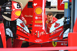 Ferrari SF70-H nose and front wing