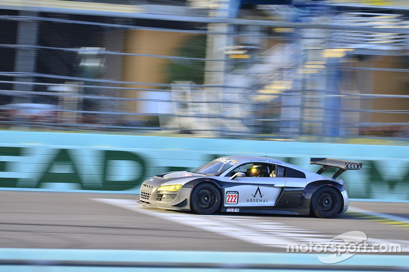 #222 MP1A Audi R8 driven by Chris Fountas & Brett Sandberg of ANSA Motorsports