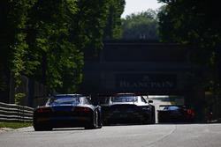 #26 Sainteloc, Audi R8 LMS: Christian Kelders, Christopher Hasse, Marc Rostan, #84 Mercedes-AMG Team HTP Motorsport, Mercedes-AMG GT3: Maximilian Buhk, Franck Perera, Jimmy Eriksson