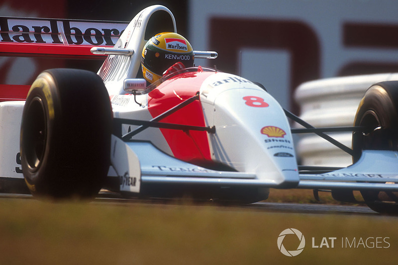 1993: Ayrton Senna (McLaren MP4/8 Ford)