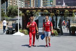 Sebastian Vettel, Ferrari y su entrenador, Antti Kontsas