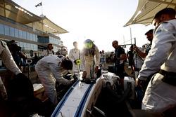 Felipe Massa, Williams, on the grid