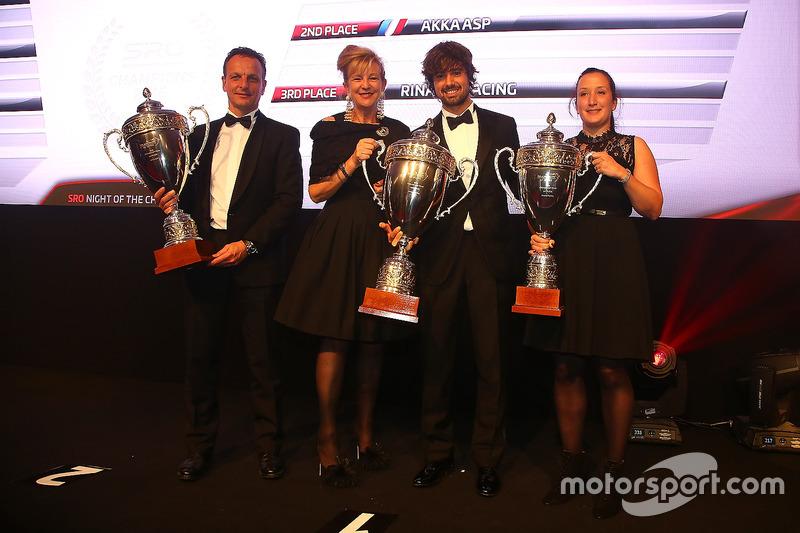 2016 Pro-AM Cup equipos, Kessel Racing, campeón AKKA ASP, segundo lugar, Rinaldi Racing, tercer lugar
