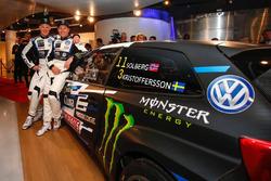 Петтер Сольберг и Йохан Кристофферссон, PSRX Volkswagen Sweden, VW Polo GTi