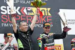 Jonathan Rea, Kawasaki Racing, Sieger Phillip Island 2015